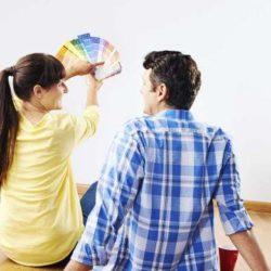 Самостоятельный ремонт квартиры. Подбор цвета для интерьера