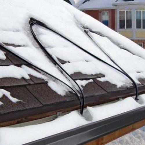 Система антиобледенения для крыши