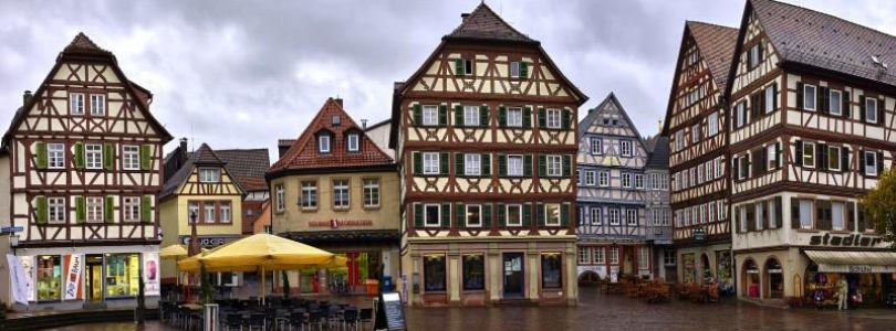 Фахверкхаус — немецкие домики