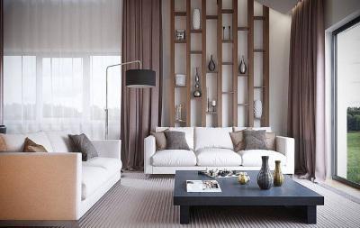 Два дивана в гостинной