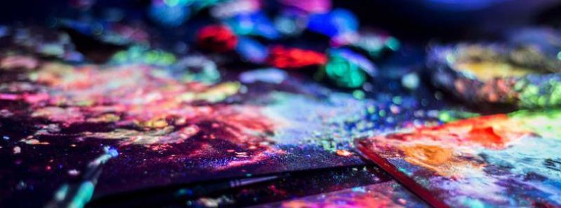 Светящаяся в темноте краска: современное использование
