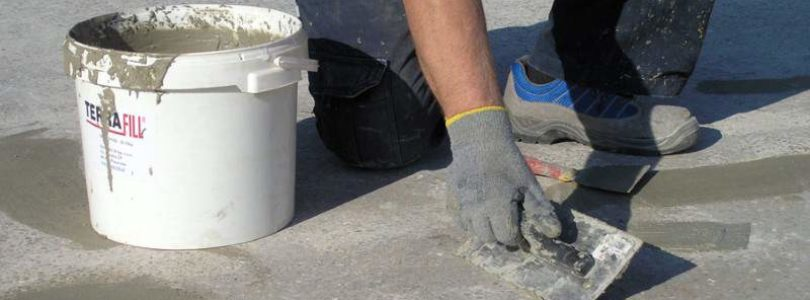 Косметический ремонт стяжки