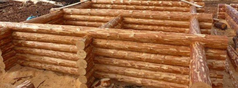 Стены деревянного дома