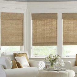 Бамбуковые шторы в интерьере квартиры