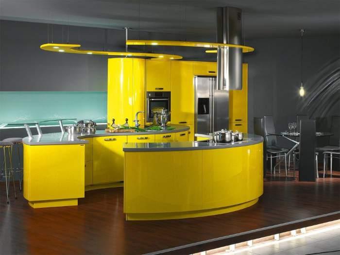 Кухня в стиле Хай-тек