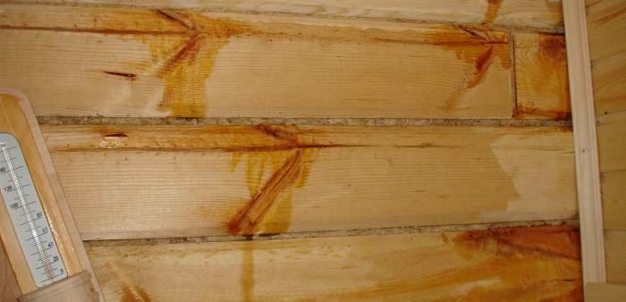 Обессмоливание древесины