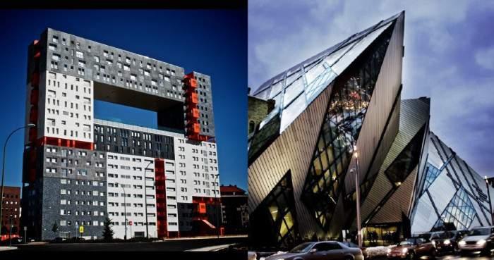 Архитектура в стиле брутализма