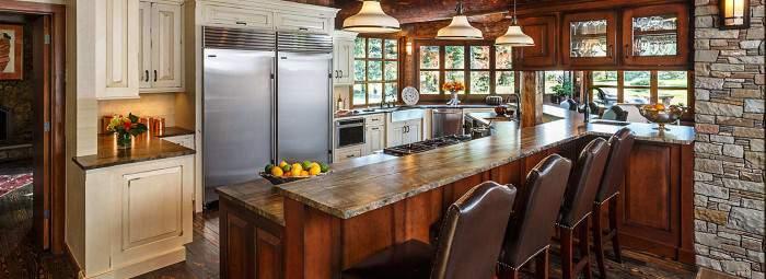 Кухня в стиле фьюжн