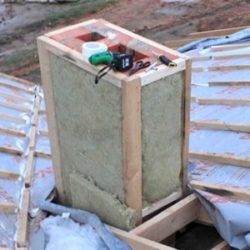 Утепление трубы дымохода — материалы и способы теплоизоляции