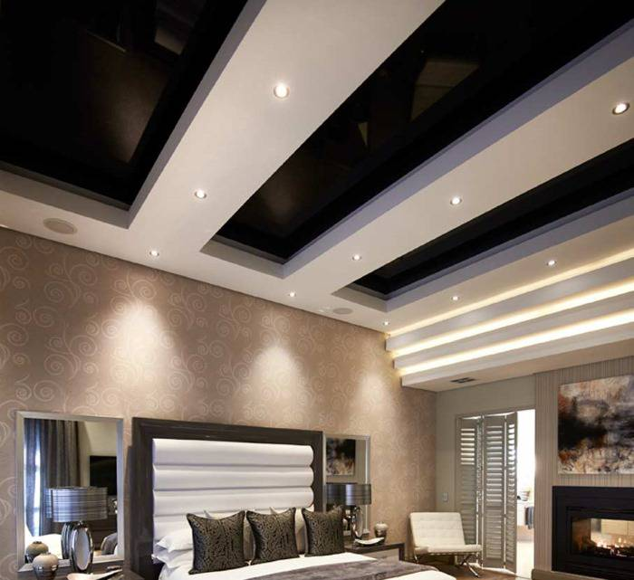 Возможность установки подсветки в потолке