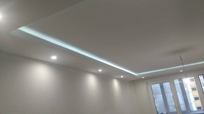 Как температура влияет на потолок из гипсокартона